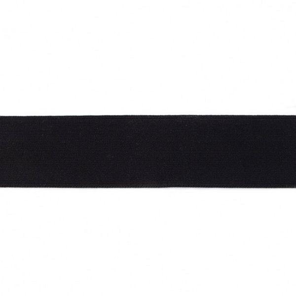 Elastikband 40mm Schwarz