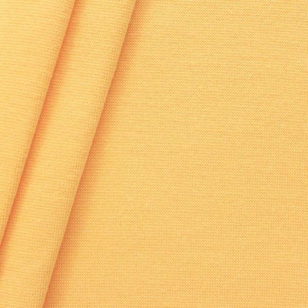 """Baumwoll Bündchenstoff """"glatt"""" Farbe Gelb"""