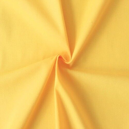 Baumwolle Polyester wie Batist Farbe Gelb