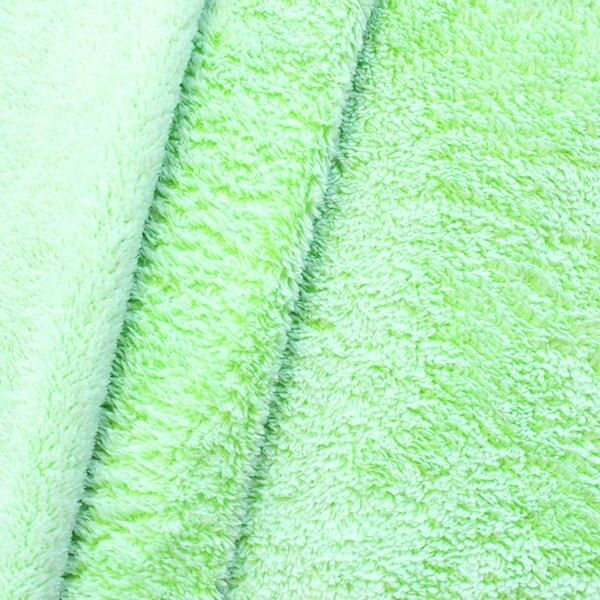 "Wellness Fleece ""Frost Effect"" Farbe Limetten-Grün"