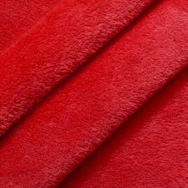 Wellness Fleece Farbe Rot