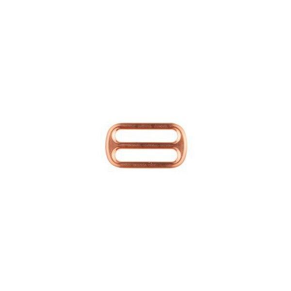 Leiterschnalle  25mm Farbe Kupfer