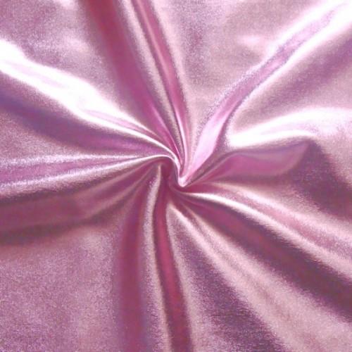 Stretch Folienjersey Farbe Rosa