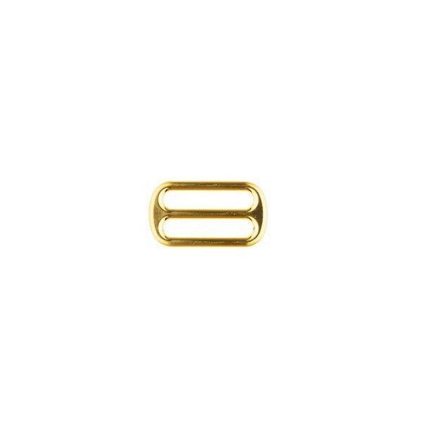 Leiterschnalle  25mm Farbe Gold