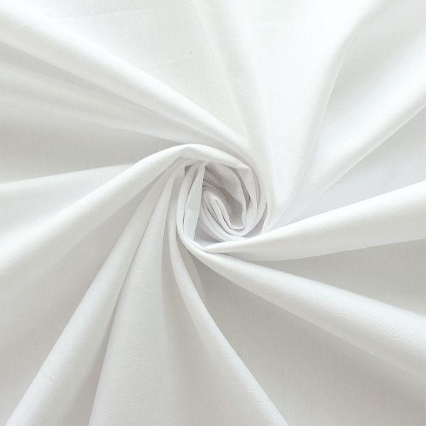 Organic Baumwolle Polpeline Weiss