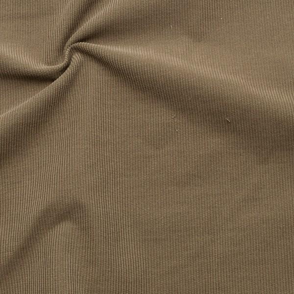 Baumwolle Feincord Babycord Beige-Grau