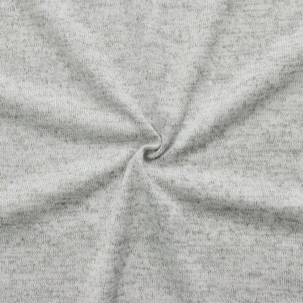 Feinstrick Jersey Artikel Sofia Farbe Hell-Grau meliert