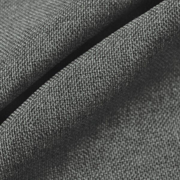 Polster- Möbelstoff Artikel Mimoza Farbe Mittel-Grau meliert
