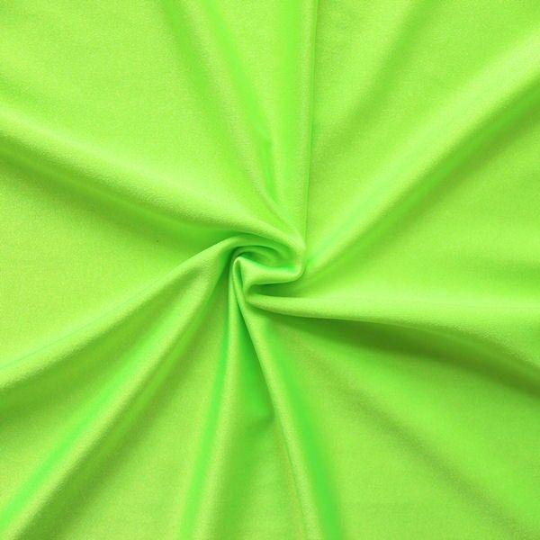 Bi-Stretch Jersey Badeanzug Stoff Neon-Grün