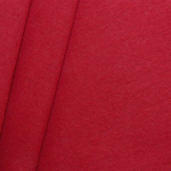 Deko Molton B1 schwer entflammbar Breite 300cm Rot