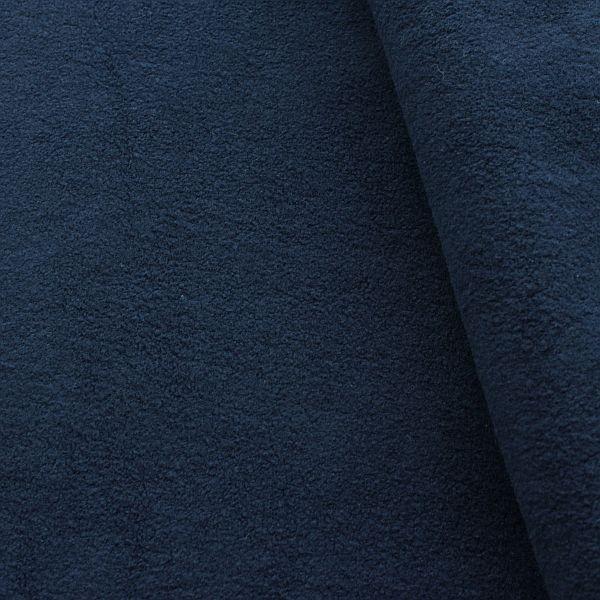 100% Baumwolle Fleece Season Classic Dunkel-Blau