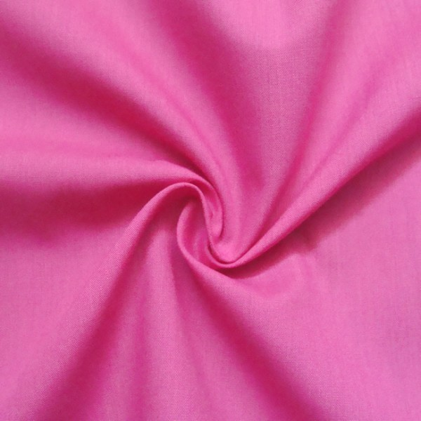 Baumwolle Polyester wie Batist Pink