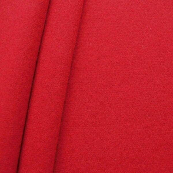Wollfilz Farbe Karmin-Rot