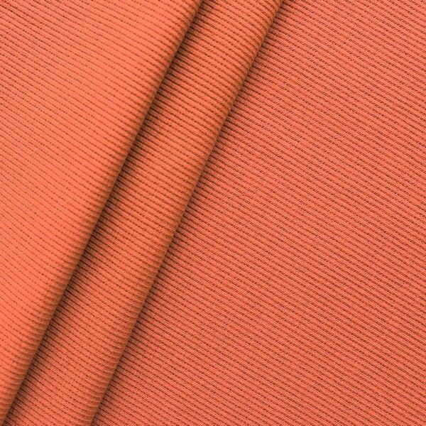 Baumwoll Bündchenstoff Farbe Orange