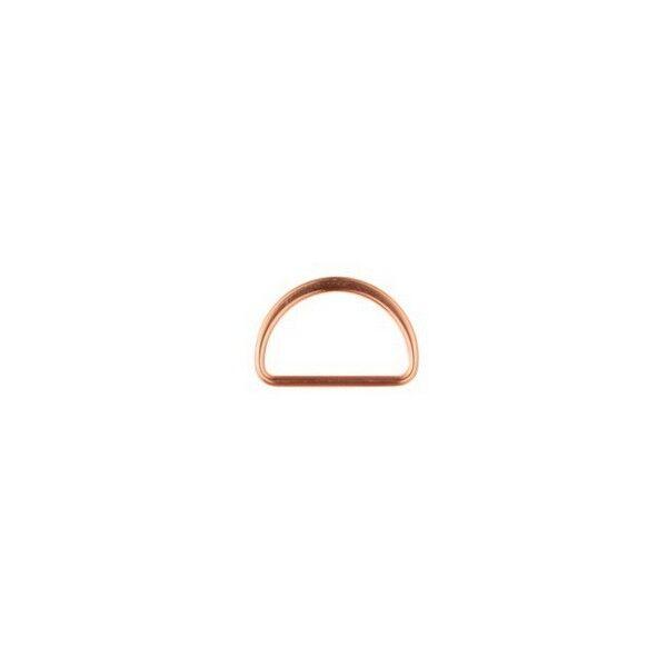 D-Ring 25mm Farbe Kupfer