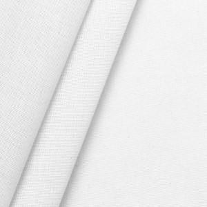 Weiße Baumwolle Canvas