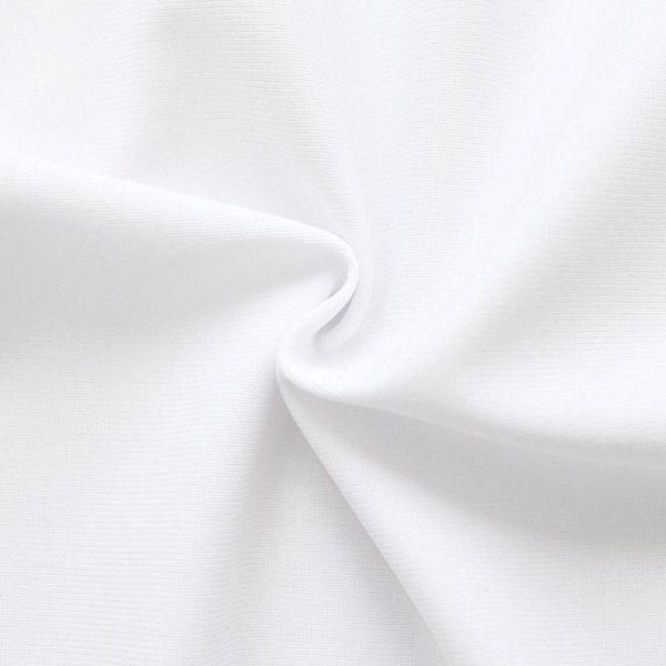 Polyester Fahnen- Dekostoff schwer entflammbar 310cm Weiss