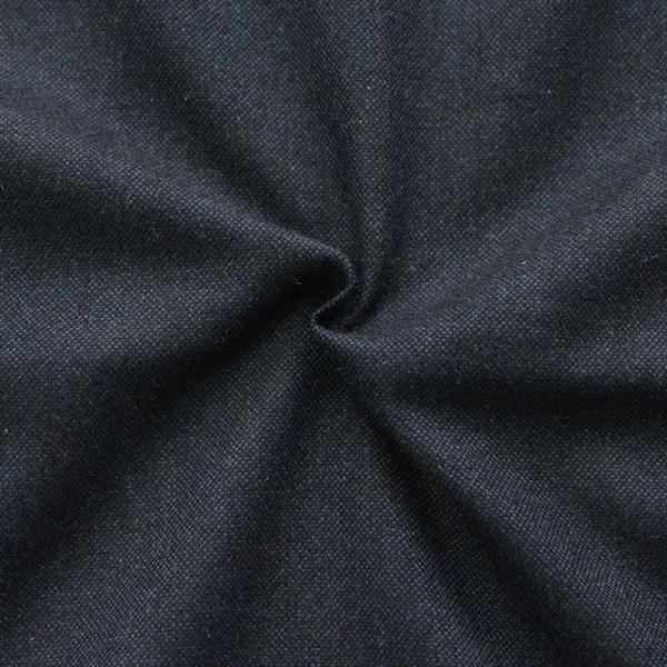 100% Baumwolle Flanell Melange Nacht- Blau