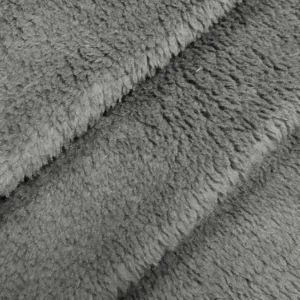 Wellness Fleece Mittel-Grau