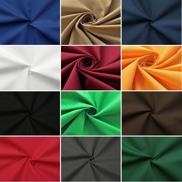 Musterkarte DIN A4 - Polyester Baumwoll Köper Basic Workwear