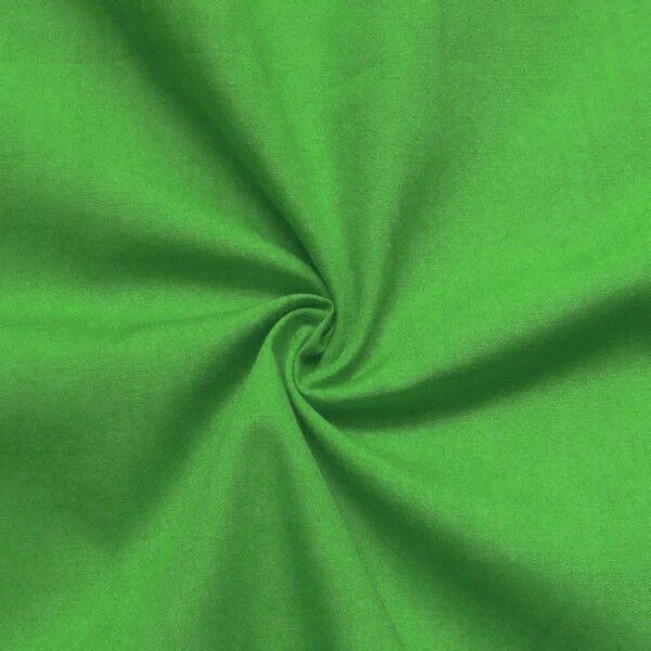 Baumwolle Polyester wie Batist Farbe Grün