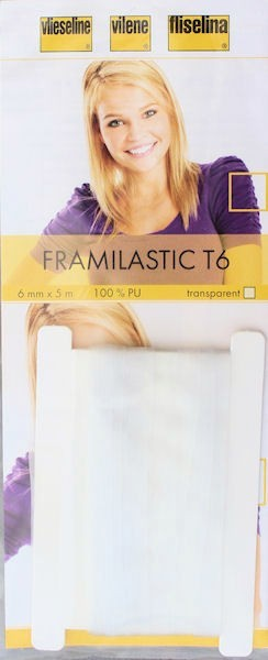 Vlieseline Framilastic Typ T 6 Farbe Transparent