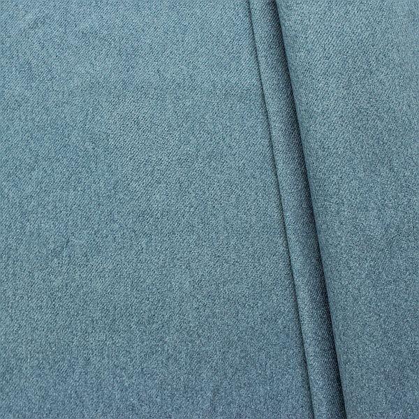 Polsterstoff Möbelstoff Filzoptik Brillant-Blau