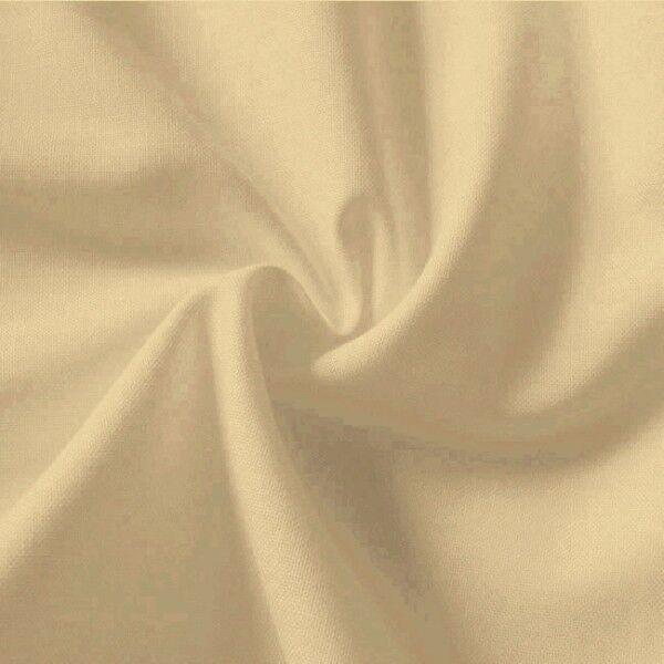 100% Baumwolle Fahnentuch Farbe Beige
