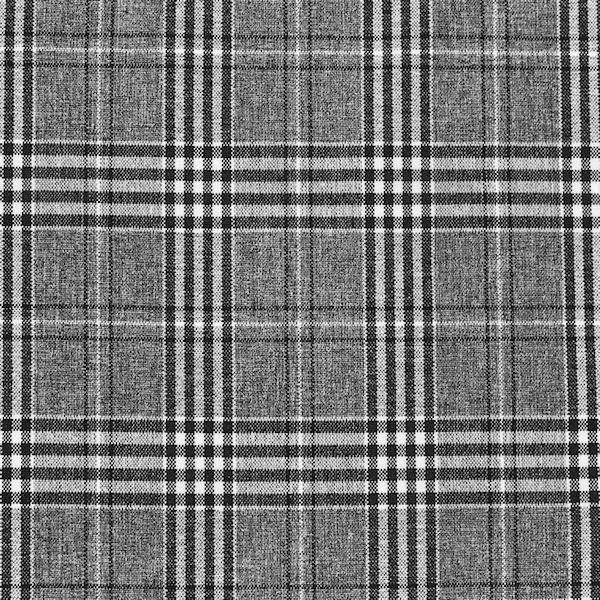 Modestoff Dekostoff Glencheck Classic Grau-Schwarz