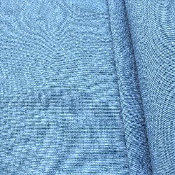 Dekostoff beschichtet Melange Jeans-Blau