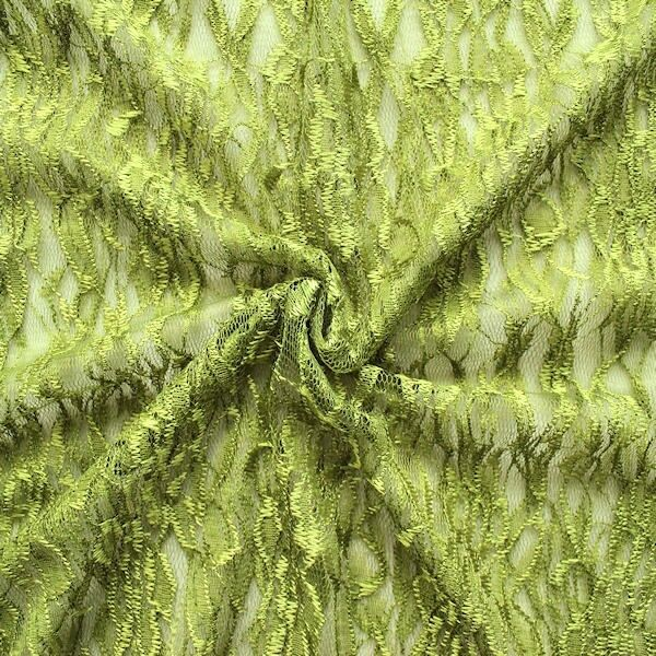 Spitzenstoff Lind-Grün