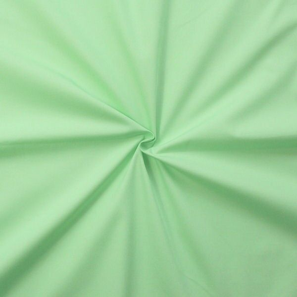 "100% Baumwolle Popeline ""Fashion Standard 2"" Farbe Mint-Grün"