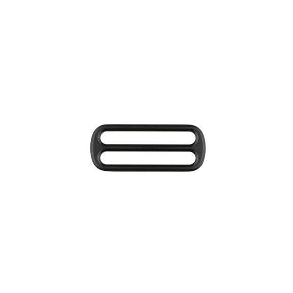 Leiterschnalle 40mm Farbe Schwarz