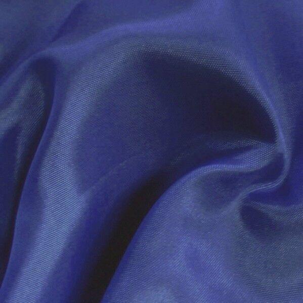 Acetat Taft Futterstoff Farbe Königs-Blau