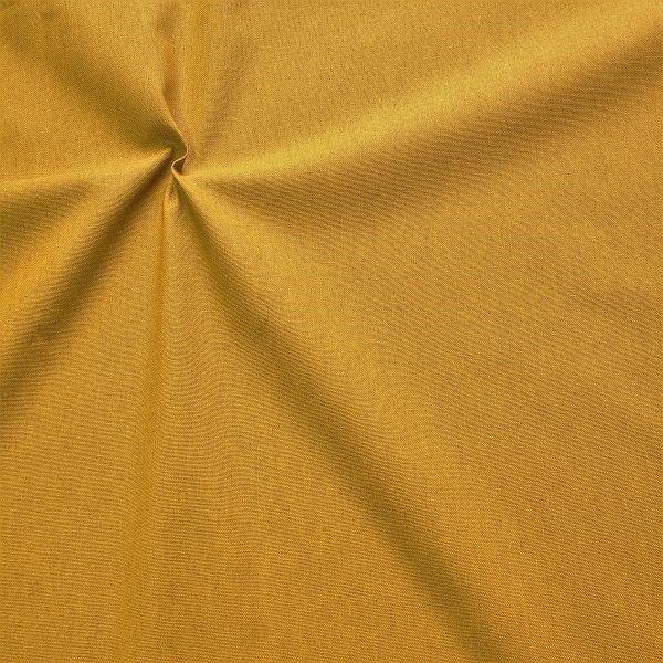 Dekostoff Leinen-Optik Home Trend Curry-Gelb