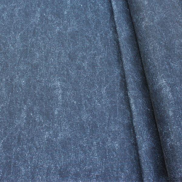 Outdoorstoff universal Jeans Used Optik Dunkel-Blau