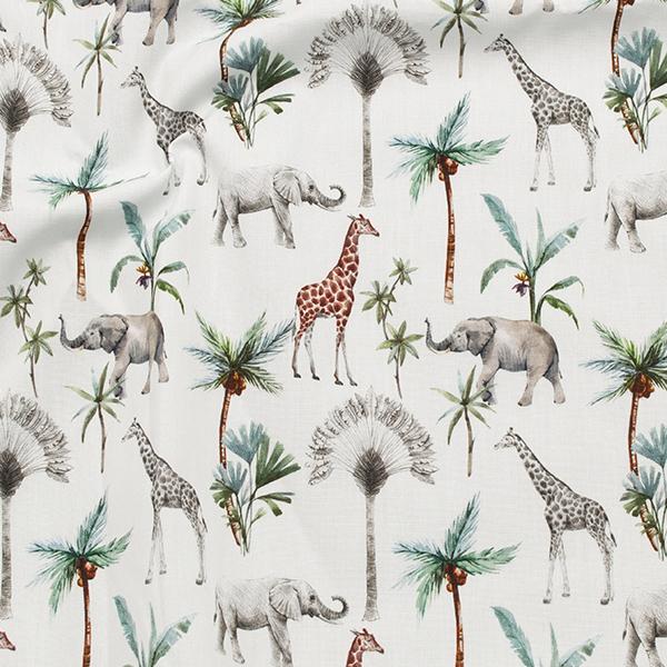 Safari-Stoff für das Boho-Ambiente