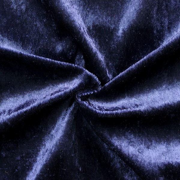 Pannesamt Nachtblau