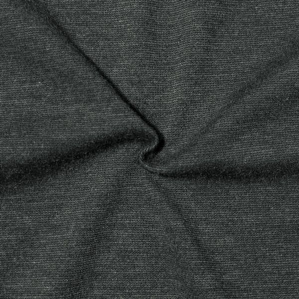 Romanit Jersey Dunkel-Grau meliert