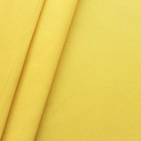 "100% Baumwoll Köper ""Fashion Standard"" Farbe Gelb"