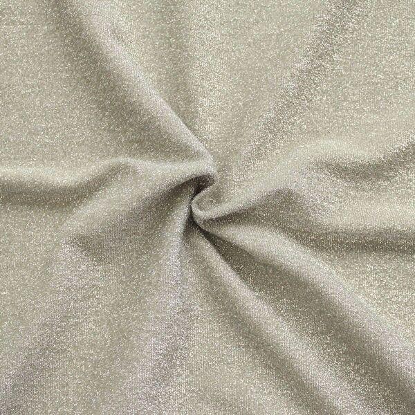 Lurex Jersey Glitter Beige