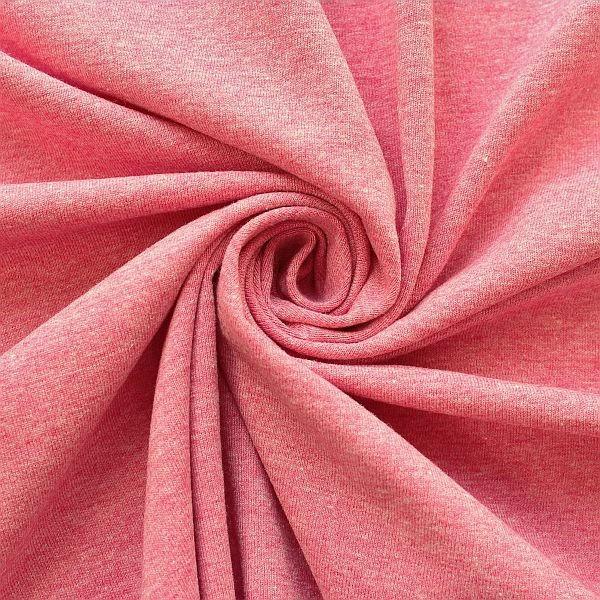 Baumwoll Stretch Jersey Pink melange