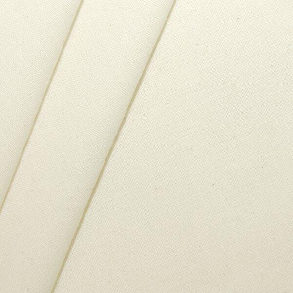 100% Baumwolle Nessel leichte Qualität Artikel Tom Natur / Ecru