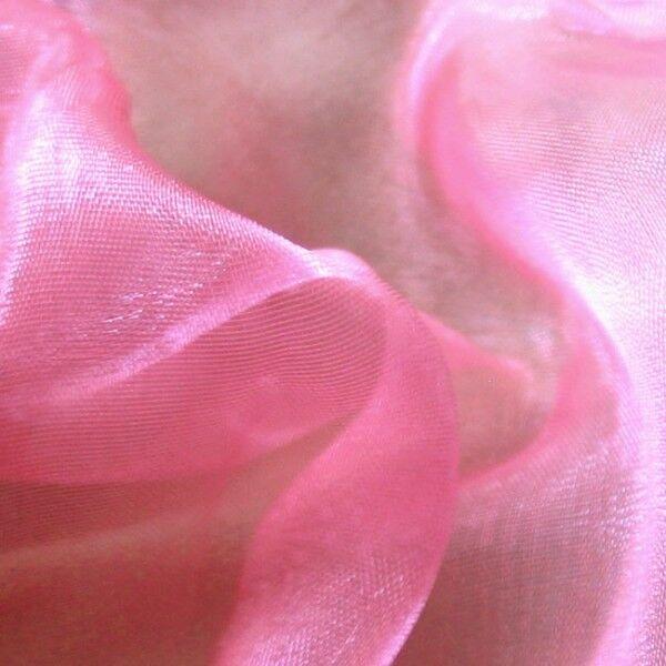 Organza Two Tone Farbe Pink-Rosa