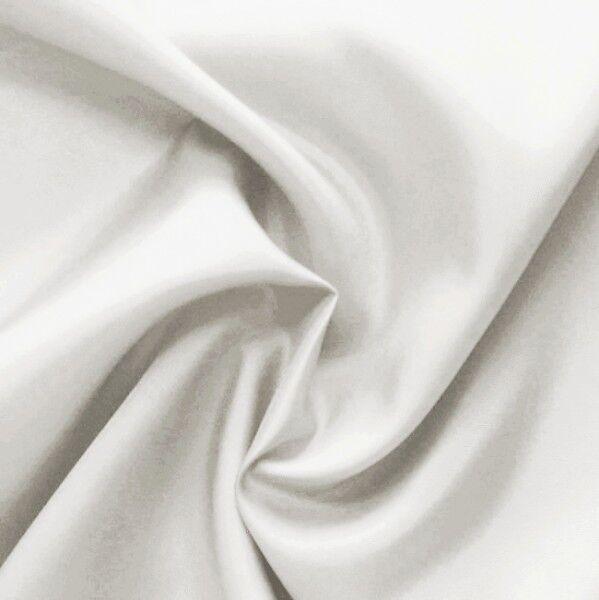 Acetat Taft Futterstoff Farbe Weiss-Grau