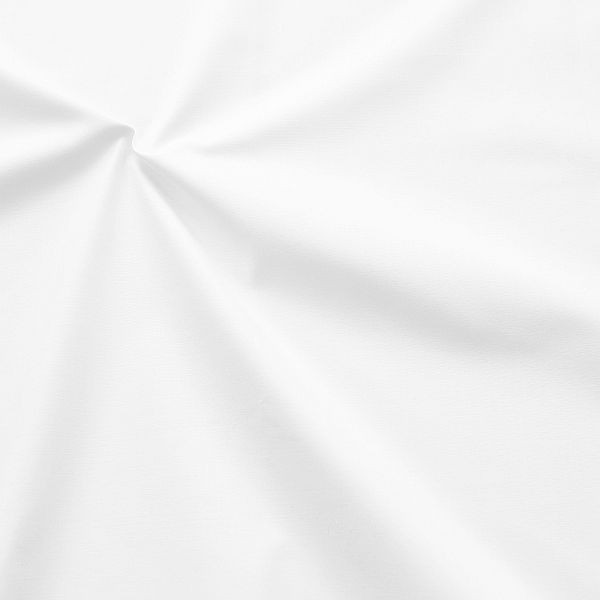 """100% Baumwolle Popeline """"sanforisiert"""" Artikel Lübeck Farbe Weiss gebleicht"""