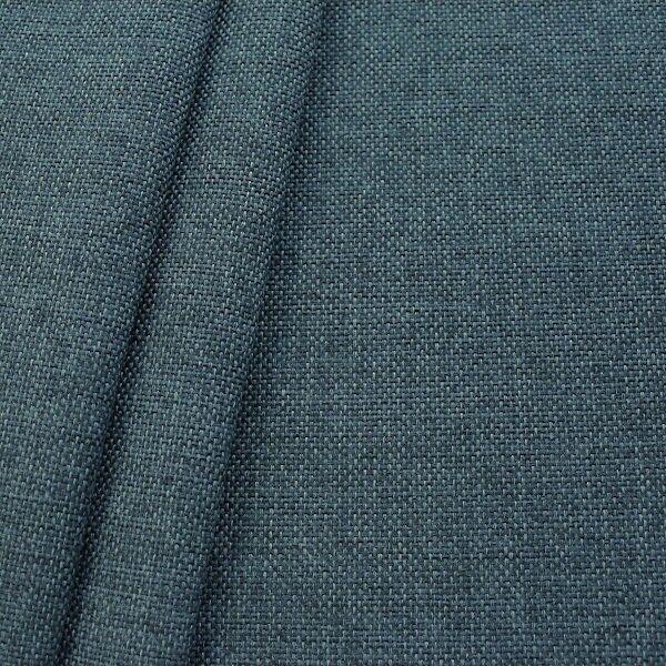 Polster- Möbelstoff Artikel Muna Blau-Grau meliert