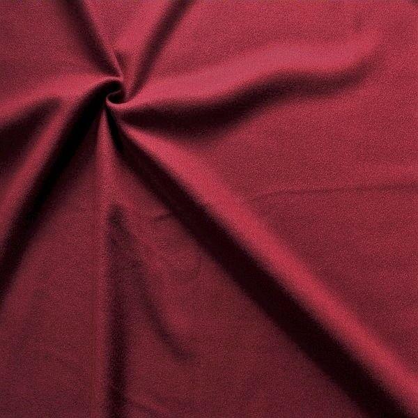 Wollmix Modestoff Wollmischung Wollstoff Wool Blend Bordeaux
