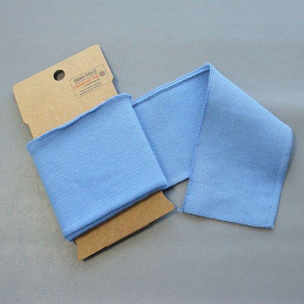 Board Cuff Bündchen Farbe Hell-Blau