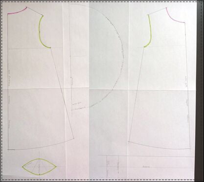 Kleidchen - Schnittmuster erstellen